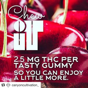 Repost canyoncultivation with repostapp  Chew iT 25mg Gummies availablehellip