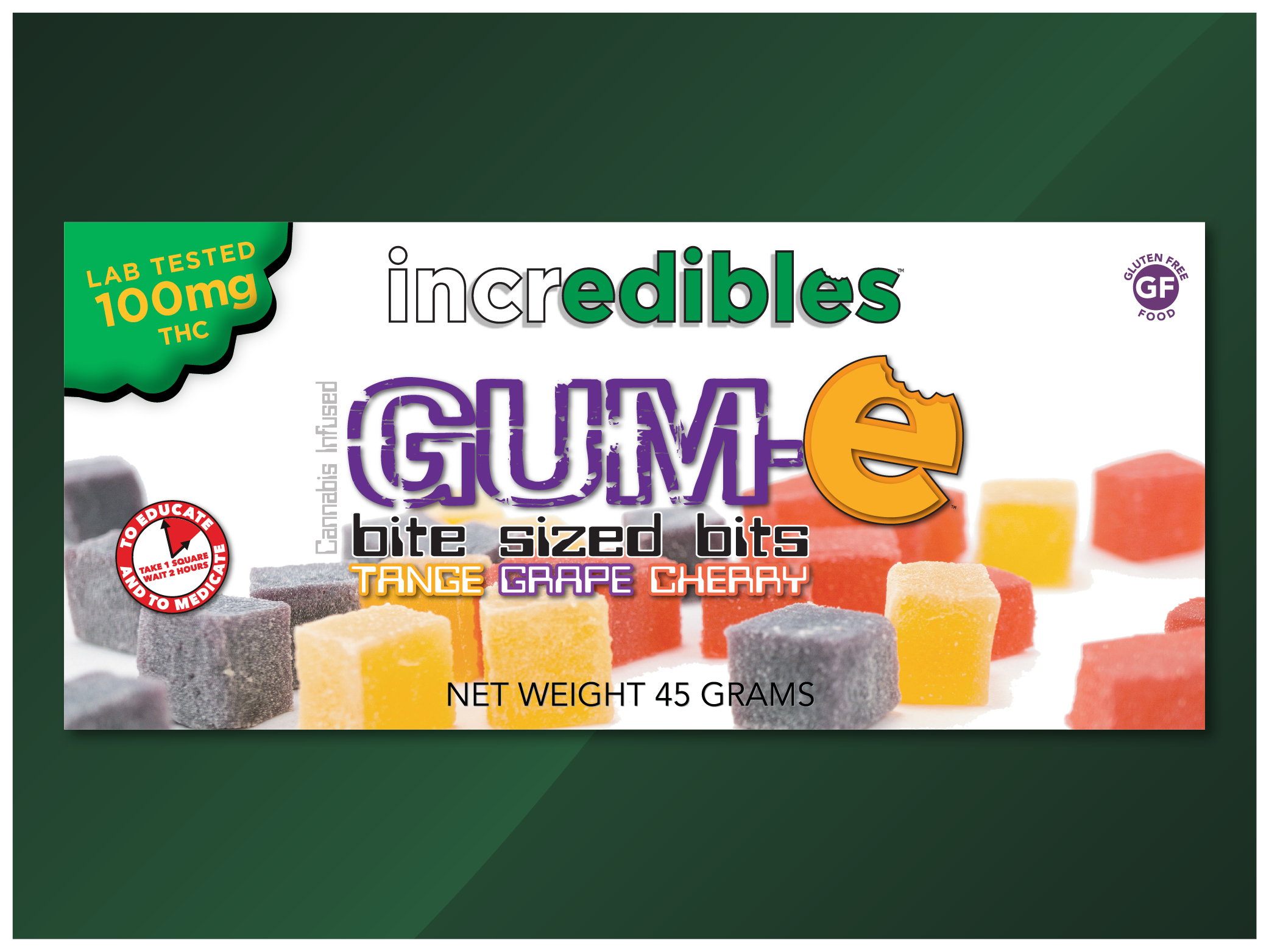 Incredibles GUM-e Bite Sized Bits