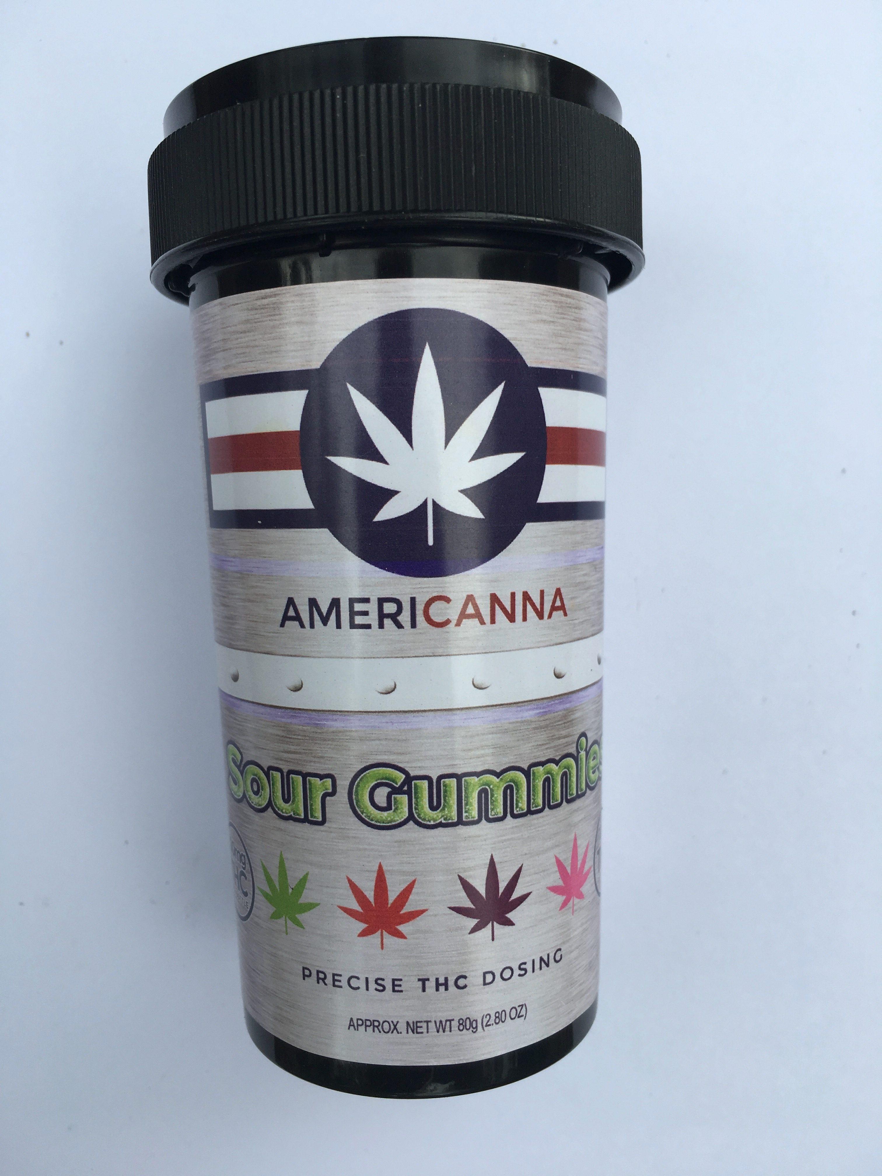 Americanna: Sour Gummies