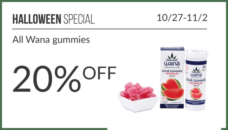 Halloween Special Wana Gummies